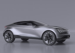 KIA Futuron Concept Is An All Wheel Drive Electric SUV Coupe